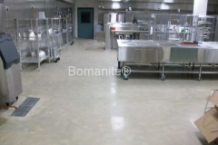 Premier Concrete Construction, LLC worked with the Cheshire County Jail to make over their kitchen and being mindful of the budget and safety needs, Bomanite Belcolore polished concrete was chosen as a low cost, low maintenance option that provides superior durability and abrasion resistance.