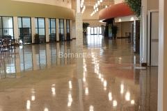 Bomanite Custom Concrete Polishing Systems with Renaissance Integrally Colored Concrete Floor.