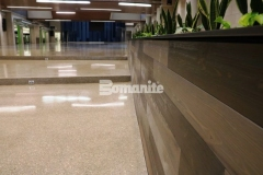 Our colleague Musselman & Hall Contractors installed a sustainable, low maintenance topping and polishing option at Olathe West High School using the Bomanite Renaissance Deep Grind System and provided them with custom polished concrete flooring that is becoming a standard in school construction and would be an ideal choice for any school.