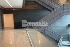This stunning, industrial modern polished concrete flooring surface was created throughout the Dallas Holocaust and Human Rights Museum using the Bomanite VitraFlor Custom Polishing System and the expert installation by our associate Texas Bomanite earned them the 2019 Best Bomanite Custom Polishing Project Honorable Mention Award.