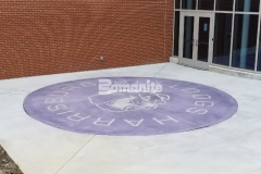 A unique and colorful design aesthetic was created here using Bomanite Alloy with exposed, decorative aggregates that help to create a durable paving surface while adding a distinct, custom finish.
