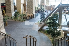 This skillful installation of the Bomanite Bomacron Small Random Slate imprint pattern was performed by our colleague, Colorado Hardscapes, and was carefully placed, impression by impression, to assure a deliberate, repetitive, and natural looking result.